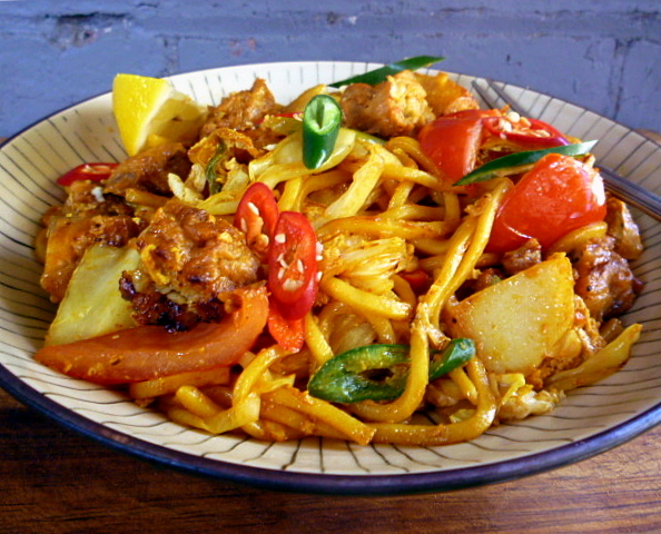 hungry tummies: Mee Goreng Mamak, Indian Muslim Style Fried Noodles ...