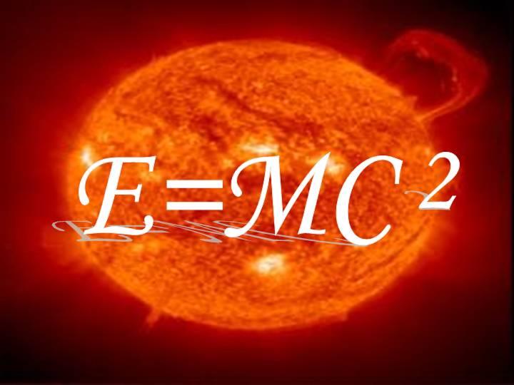 E = mc2 dalam ilmu fisika adalah sebuah rumus yang sering dikenal dan sangat penting dalam menjelaskan persamaan nilai antara energi (E) dan massa (m), yang disetarakan secara langsung melalui konstanta kuadrat laju cahaya dalam vakum ( c 2 ).
