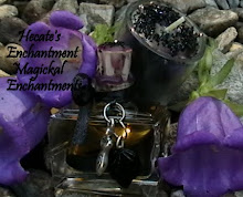Hecate's Enchantments Perfume Oil and Candle