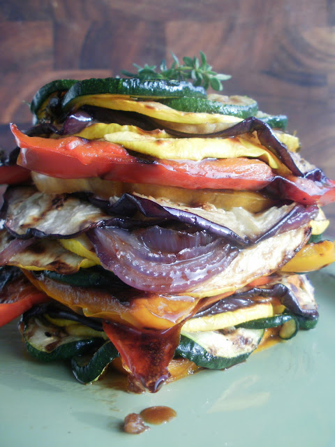 ... eat a variety of vegetables than with this grilled ratatouille salad