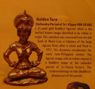 golden tara of butuan