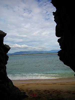 capones island cave