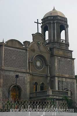 Backpacking Philippines and Asia Nueva Ecija San Jose Cathedral