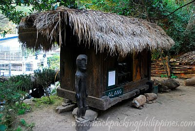 tam-awan village alang native igorot hut
