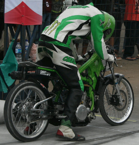 Our Bike is 2010 Fastest Bike On Track, (7,191 second/201m)),