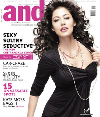 Chitrangada Singh on the Cover of Andpersand Magazine