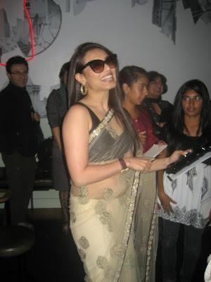 Rani Mukherjee at Cinema Nova