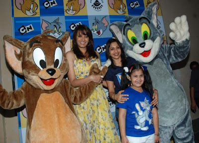 Diana Hayden at Tom N Jerry's Birthday