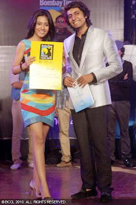Amrita Rao at Bombay Times Fresh Face Finale