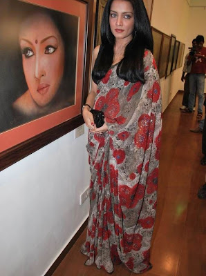 Celina Jaitley grace Egyptian Diplomat's Bollywood Exhibition