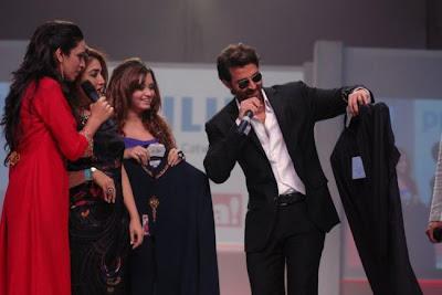 Hrithik Roshan at Dubai Mega Mela