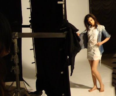 Deepika Padukone on sets of Vogue Magazine Photoshoot