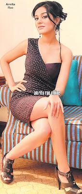 Amrita Rao at Delhi Store