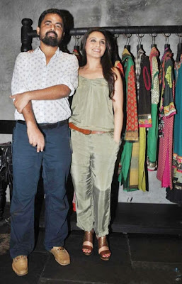 Rani Mukherjee launches Sabyasachi store