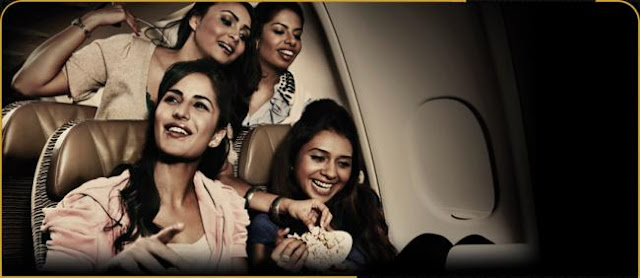 Katrina Kaif's Photoshoot for Etihad Airways
