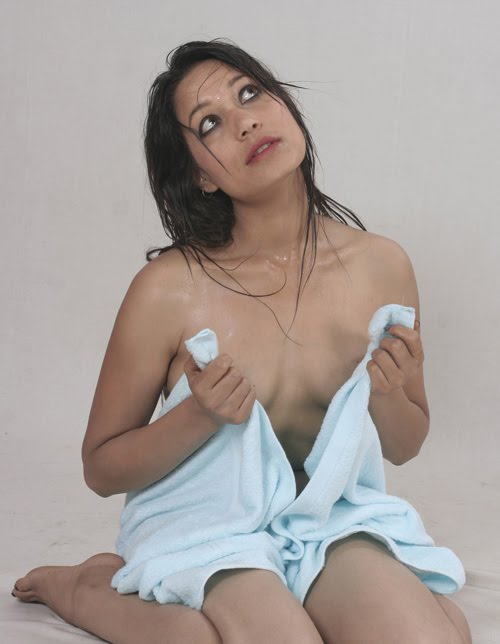 video photo nude Nepali model shoot