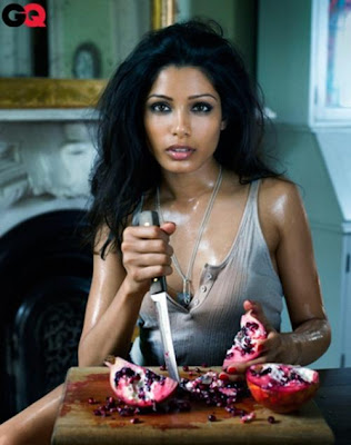 Freida Pinto on GQ Magazine