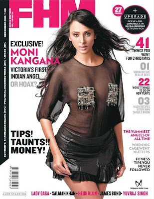 Monikangana Dutta On FHM Magazine