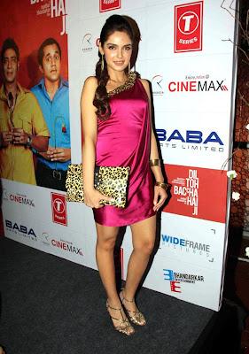 Shazahn Padamsee at Dil to Bacha Hai Jee Movie Music Launch gallery