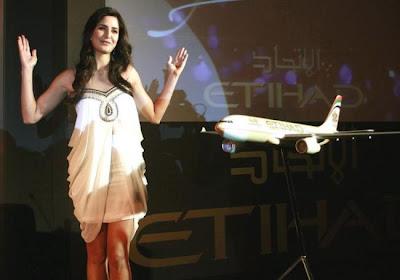 Katrina Kaif promotes Etihad Airline