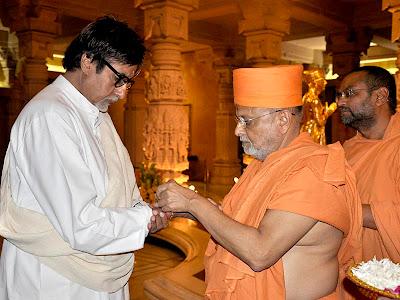 Amitabh Bachchan at Akshardham