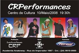1º espetáculo da  Cia de Rua de Petrópolis-C.R.P.