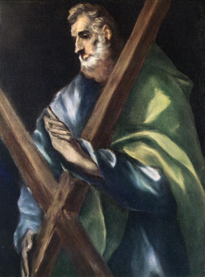El Greco, Saint Andrew Apotre, Protoclete dans immagini sacre El+Greco.+Sant%2527Andrea