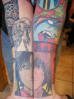 Anime Samurai x Tattoos