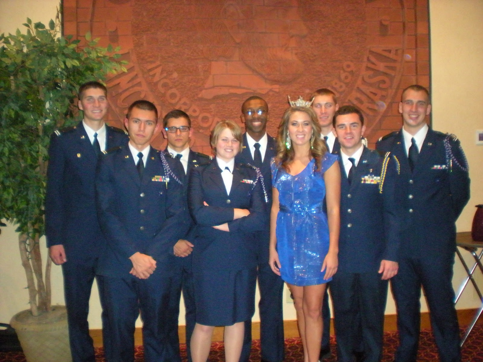 My Year As Miss Omaha Dining Out With The Air Force