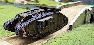 Andy Hamilton's British Tank