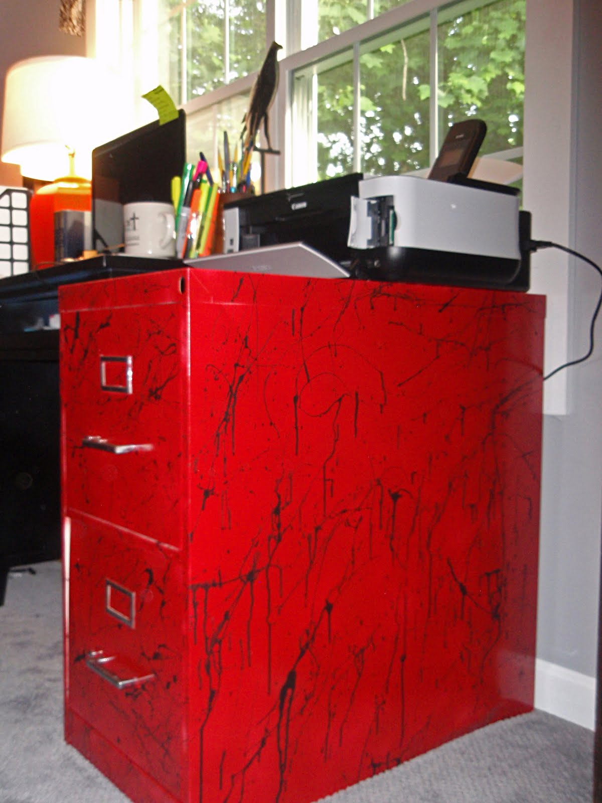 Not Only Do I Now Have A Place To Store Things, I Have A Place To Store  Things That Is Red, Splattery And Hotter Than Wasabi. ANNNND It Is Metal ...
