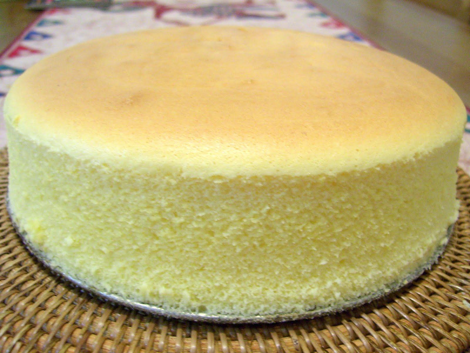 Cheddar Cheese Sponge Cake Recipe