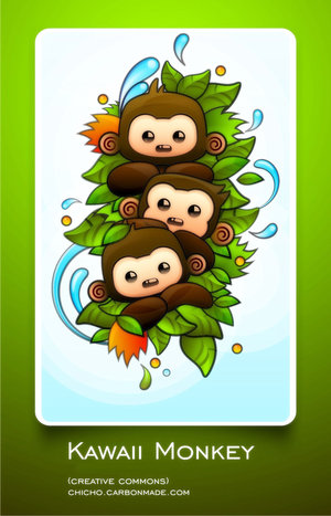 monkey wallpaper. 3 MONKEYS. C#39;è nervosismo.