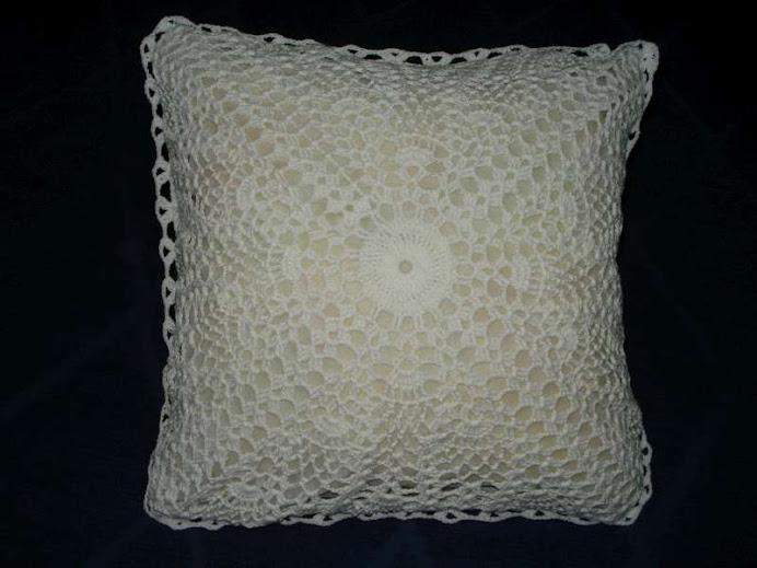 almohadon blanco