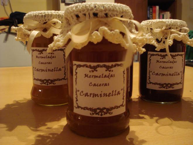 dulce casero y frascos decorados