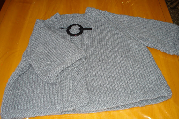 saco gris