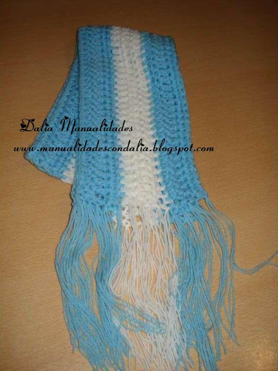bufanda de argentina