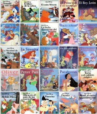 Los Clásicos Disney, Colección Completa de 42 libros