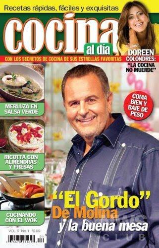 Cocina al día 01 - El secreto de cocina de sus estrellas favoritas