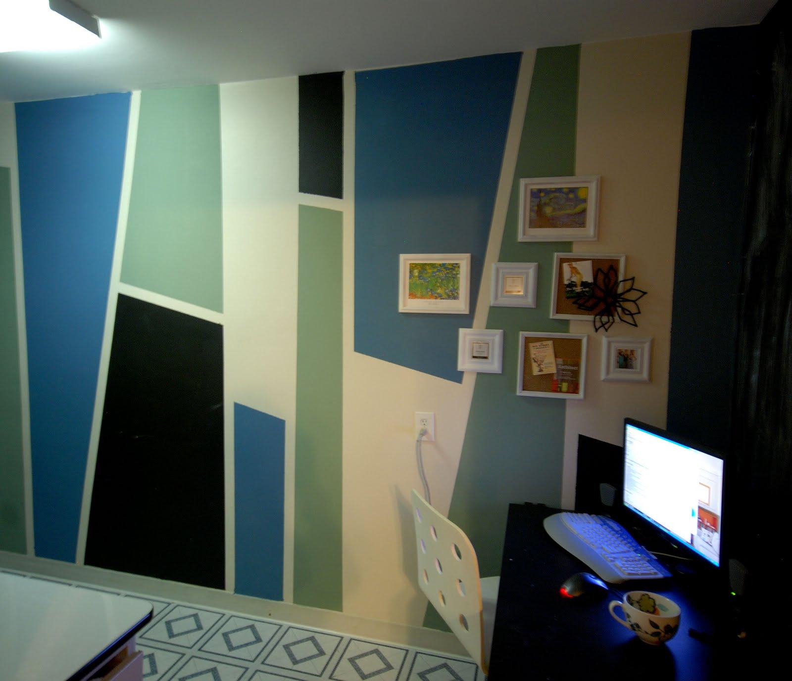 diy design sly zig and zag color blocks