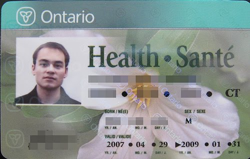 how to change ontario health card