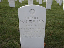 Ezekiel Washington gravesite