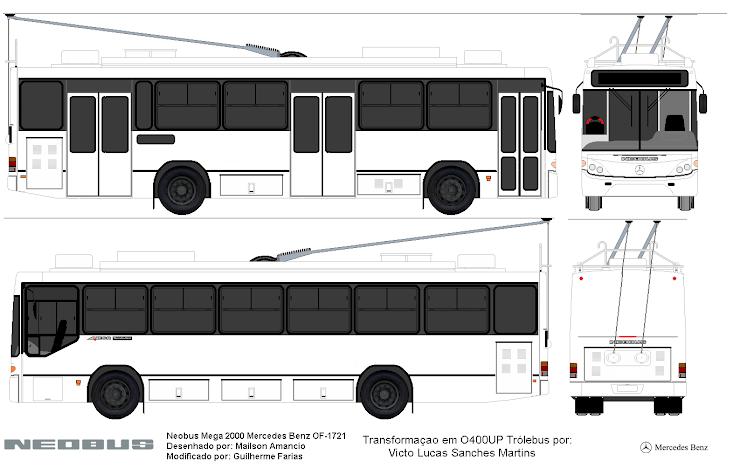 Neobus Mega O400UP Trólebus