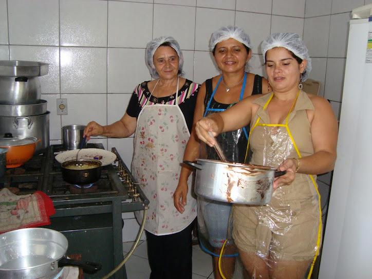 PROCESSAMENTO DE CHOCOLATE - CRAS IPUEIRAS