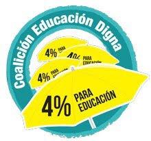 4 % para la Educacion en Rep. Dom.