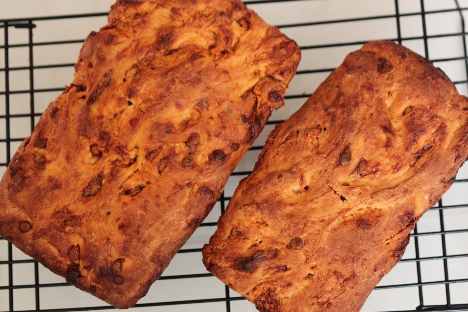 Smashed Peas and Carrots: Cinnamon Chip Bread