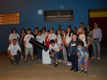 Clube de Astronomia do colégio Estadual Humberto de Campos - CACEHC