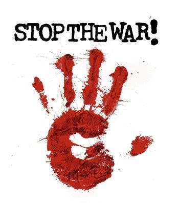 Stop the war.  Isaac Maya.
