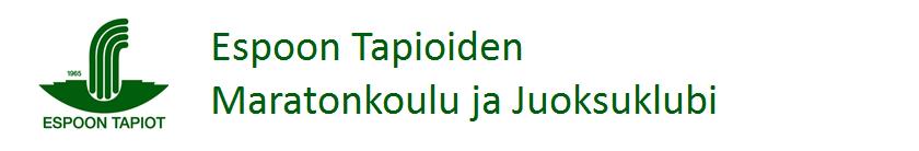 Espoon Tapioiden Maratonkoulu ja Juoksuklubi