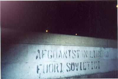 Afganistán Libre. Fuera Soviéticos.